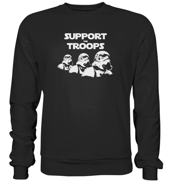 Support the Troops - Basic Sweatshirt - King Of Shirts