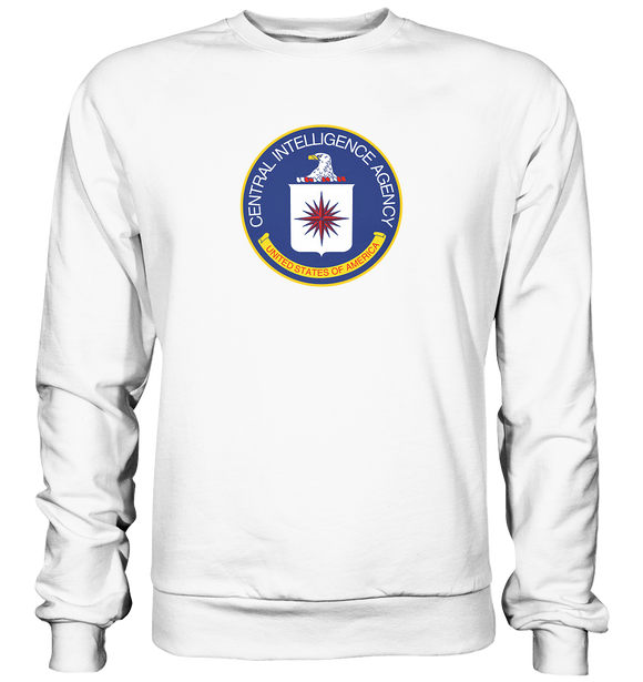 CIA Logo - Basic Sweatshirt - King Of Shirts