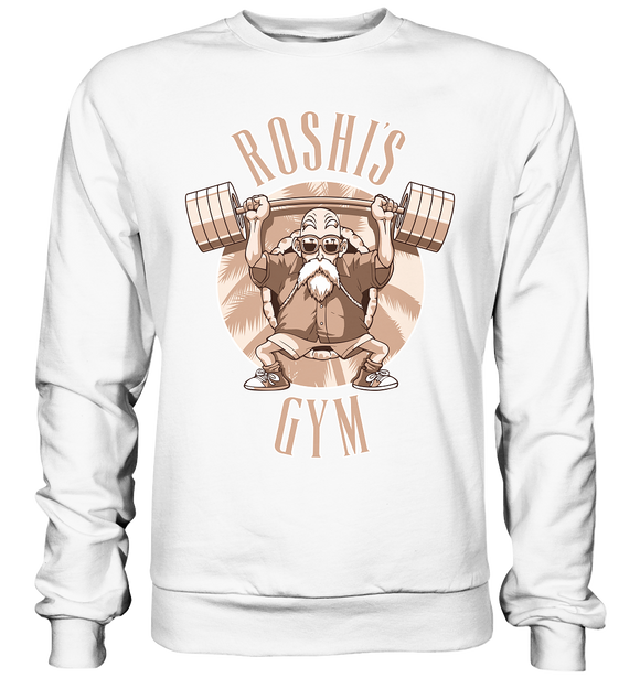Roshi's Gym - Basic Sweatshirt - King Of Shirts - Lustige T-Shirts und Merchandise