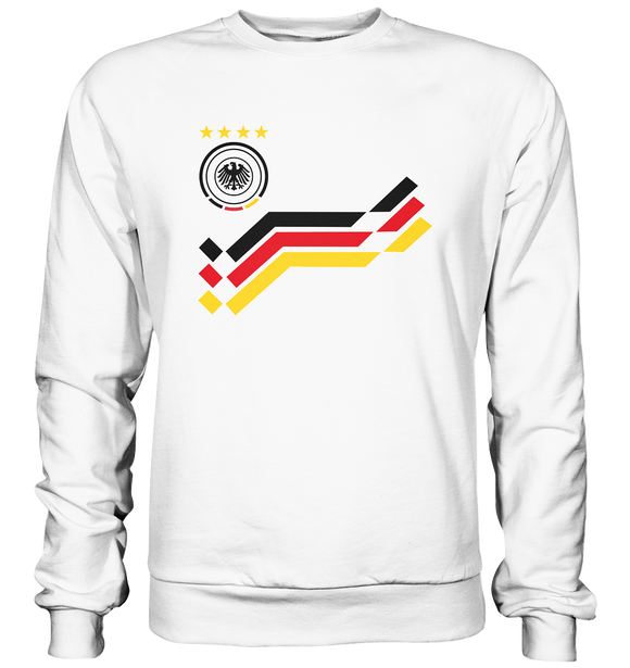 WM Retro Trikot Design - Basic Sweatshirt - King Of Shirts
