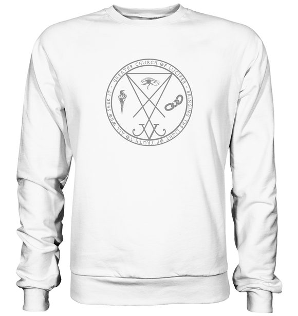 Church of Lucifer - Basic Sweatshirt - King Of Shirts