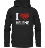 I Love Helene - Basic Unisex Hoodie - King Of Shirts