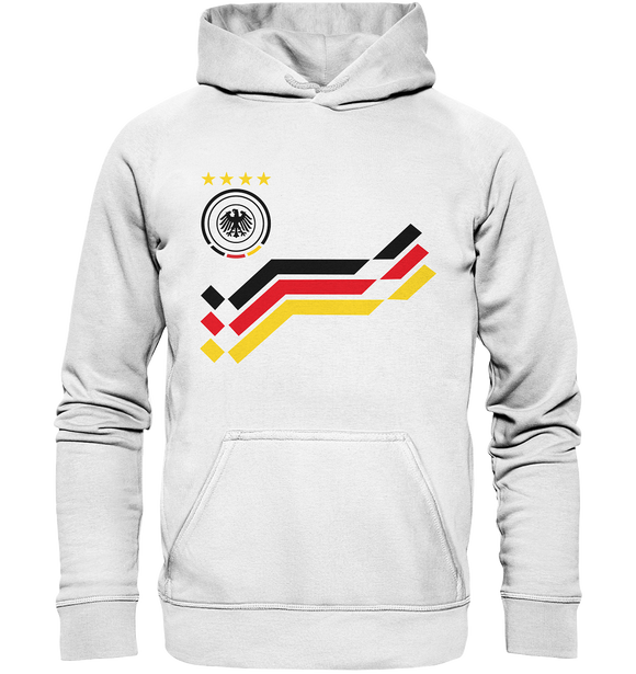 WM Retro Trikot Design - Basic Unisex Hoodie - King Of Shirts