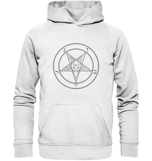 Pentagram Lucifer 666 - Basic Unisex Hoodie - King Of Shirts