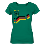WM Retro Trikot Design - Ladies Organic Shirt - King Of Shirts