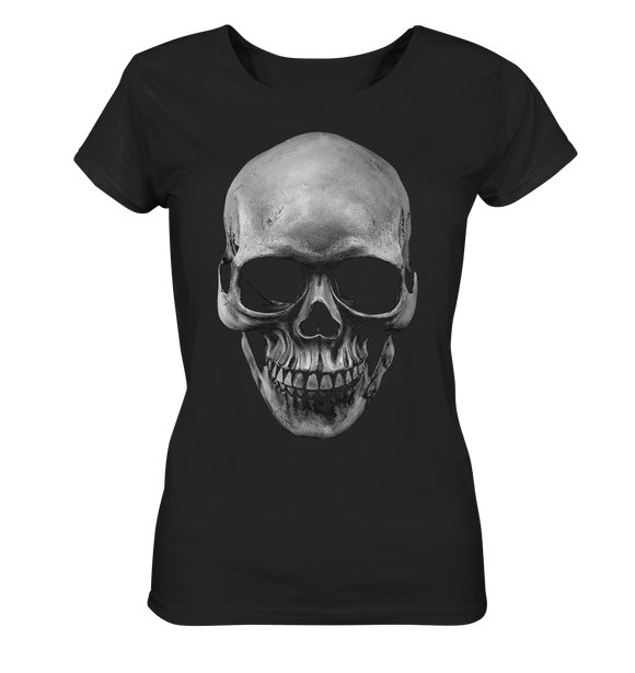 Biker Totenkopf - Ladies Organic Shirt - King Of Shirts