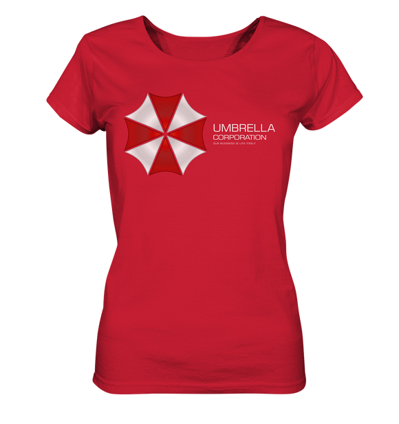 Umbrella Corporation - Ladies Organic Shirt - King Of Shirts