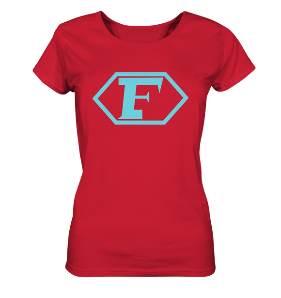 Captain Future Logo - Ladies Organic Shirt - King Of Shirts