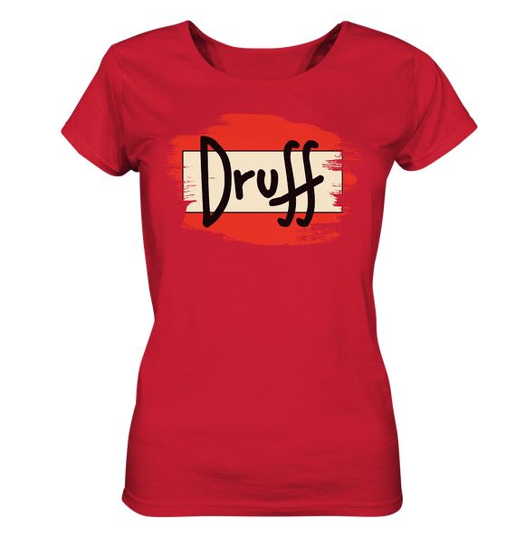 Druff Beer - Ladies Organic Shirt - King Of Shirts