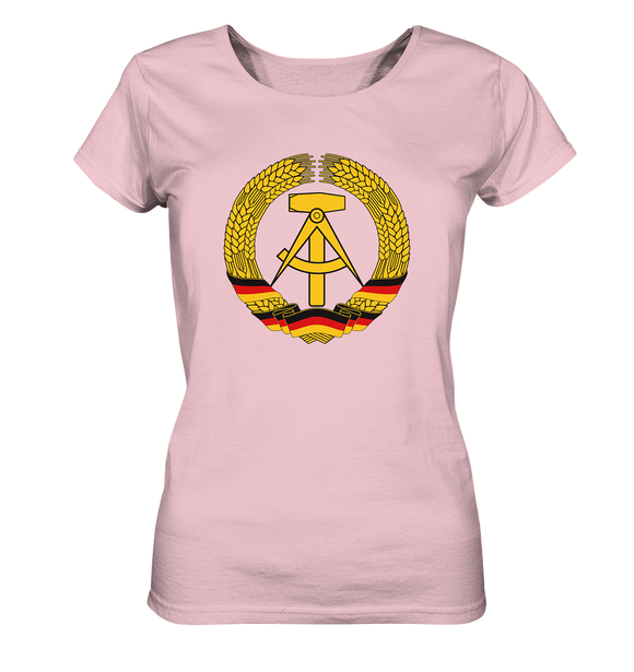 DDR Emblem - Ladies Organic Shirt - King Of Shirts