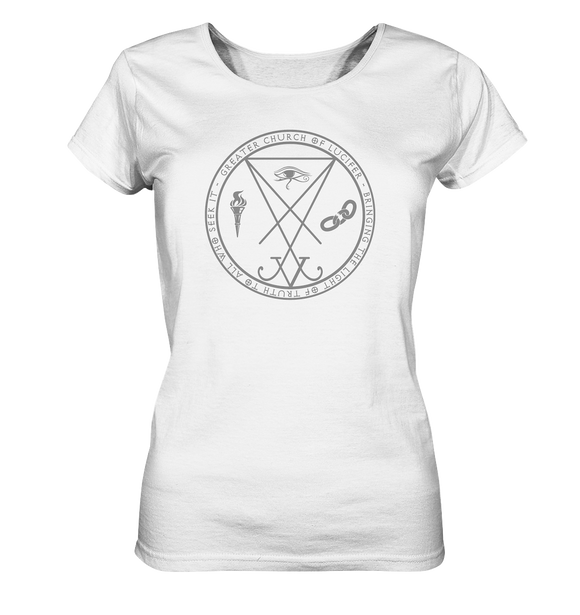 Church of Lucifer - Ladies Organic Shirt - King Of Shirts