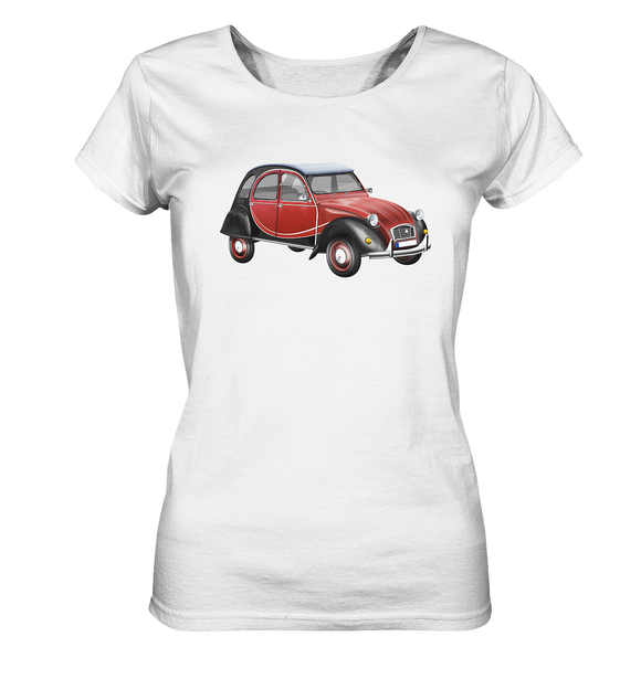 Oldtimer Ente - Ladies Organic Shirt - King Of Shirts
