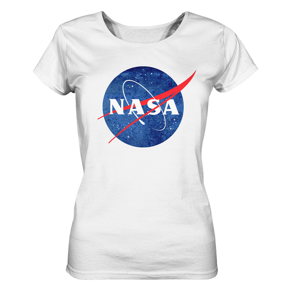 NASA Logo - Ladies Organic Shirt - King Of Shirts