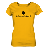 Trump Schwachkopf - Ladies Organic Shirt - King Of Shirts