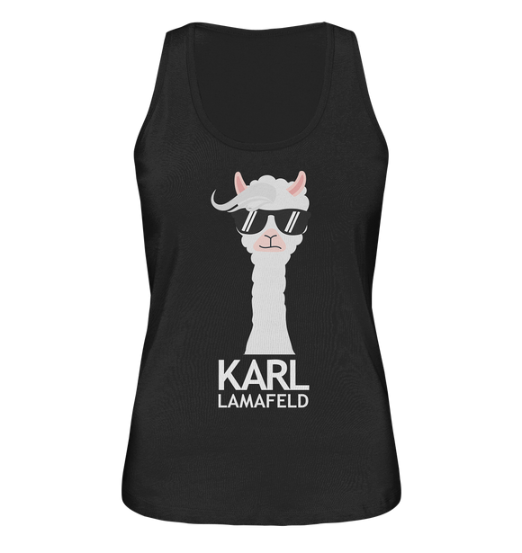 Karl Lamafeld - Ladies Organic Tank-Top - King Of Shirts
