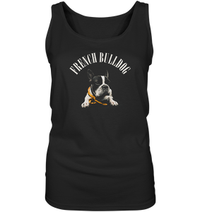 Französische Bulldogge - Ladies Tank-Top - King Of Shirts