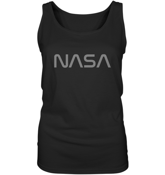 NASA Worm Logo - Ladies Tank-Top - King Of Shirts