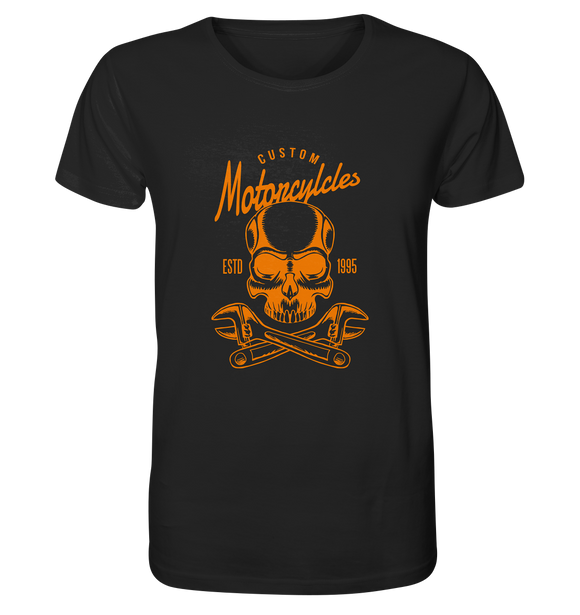 Biker Custom Motorcycles Totenkopf - Organic Shirt - King Of Shirts