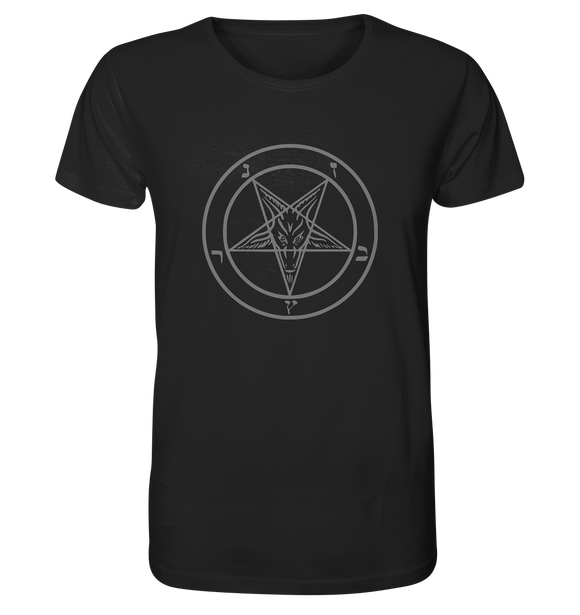 Pentagram Lucifer 666 - Organic Shirt - King Of Shirts
