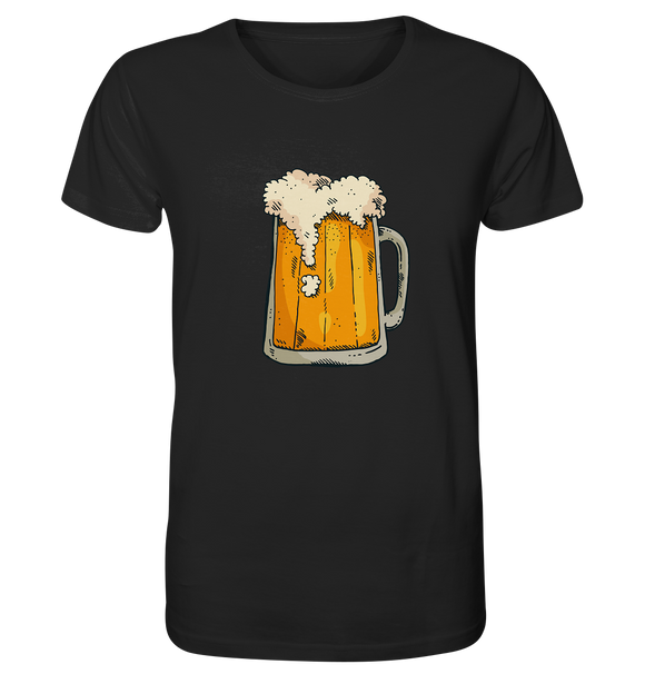 Bier Glas - Organic Shirt - King Of Shirts