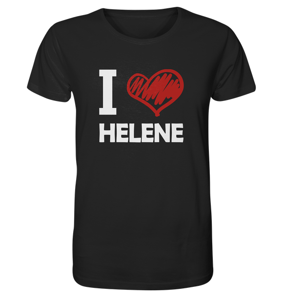 I Love Helene - Organic Shirt - King Of Shirts