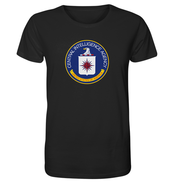 CIA Logo - Organic Shirt - King Of Shirts