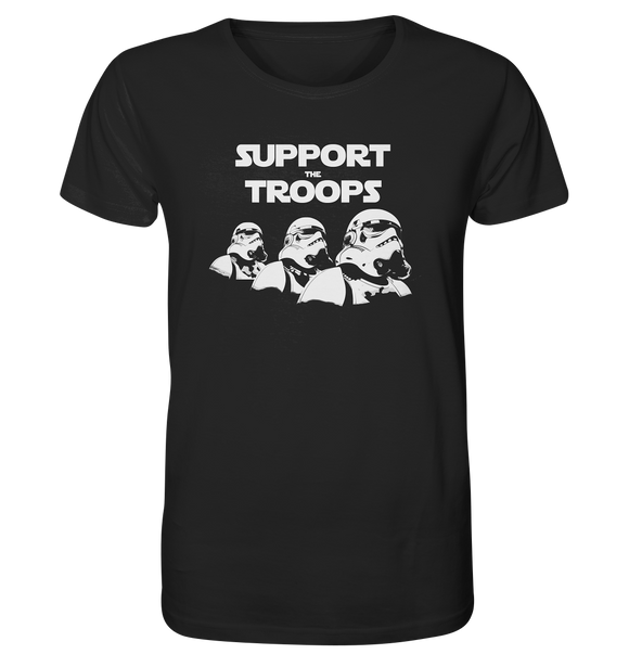 Support the Troops - Organic Shirt - King Of Shirts