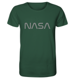 NASA Worm Logo - Organic Shirt - King Of Shirts