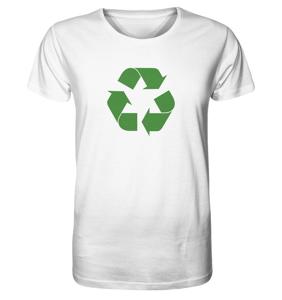 Sheldon Cooper - Recycling Logo - Organic Shirt - King Of Shirts