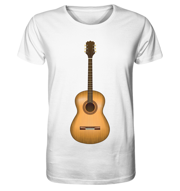 Akustik-Gitarre - Organic Shirt - King Of Shirts