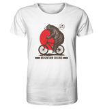 I love Mountain Biking - Organic Shirt - King Of Shirts