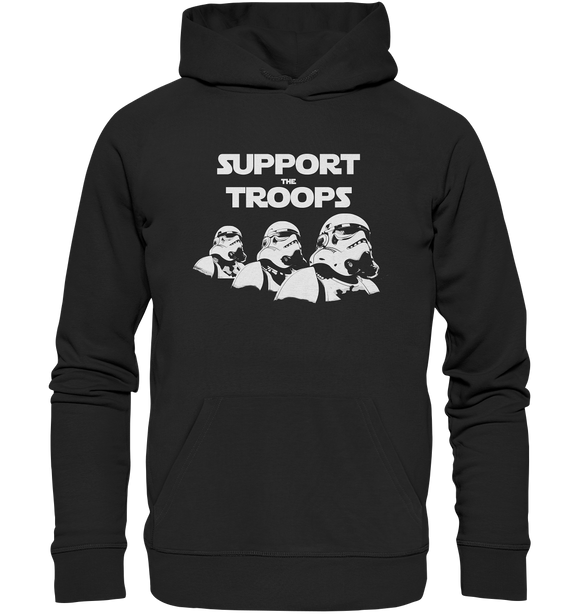 Support the Troops - Premium Unisex Hoodie - King Of Shirts