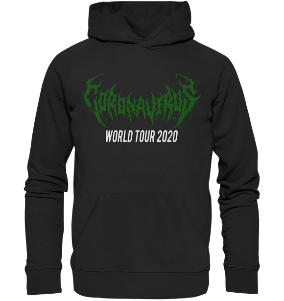 Coronavirus Metal Hoodie World Tour 2020 - Premium Unisex Hoodie - King Of Shirts