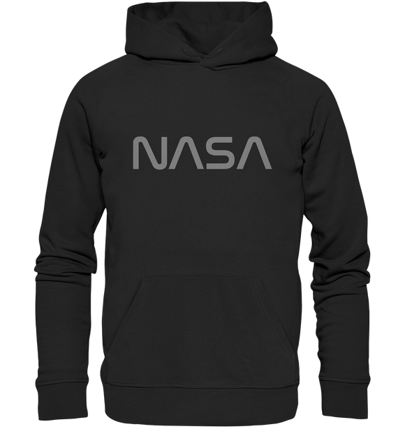 NASA Worm Logo - Premium Unisex Hoodie - King Of Shirts