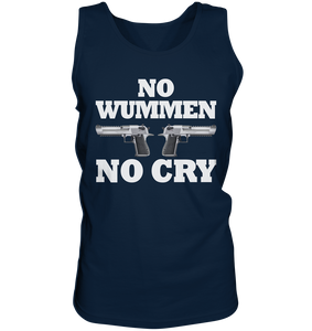 No Wummen No Cry - Tank-Top - King Of Shirts