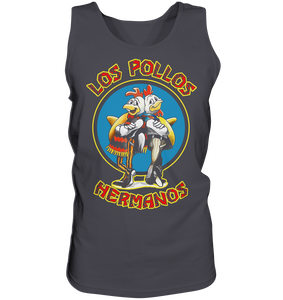 Los Pollos Hermanos - Tank-Top - King Of Shirts - Lustige T-Shirts und Merchandise