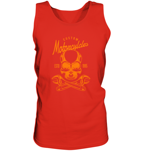 Biker Custom Motorcycles Totenkopf - Tank-Top - King Of Shirts