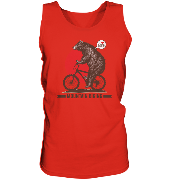 I love Mountain Biking - Tank-Top - King Of Shirts