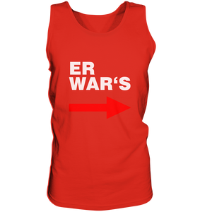 Er war's. - Tank-Top - King Of Shirts