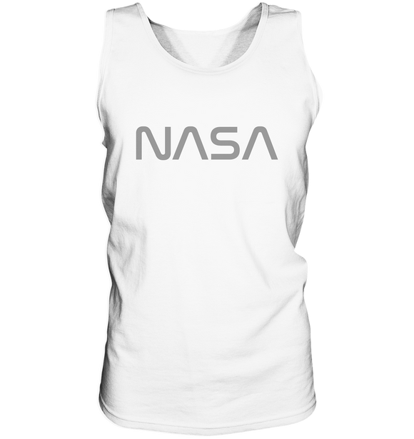 NASA Worm Logo - Tank-Top - King Of Shirts