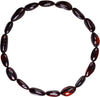 Adult Amber Bracelet Bean - Dark Cherry