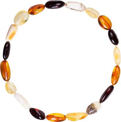 Adult Amber Bracelet Bean - Mixed