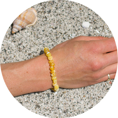Adult Amber Bracelet Bud - Butterscotch