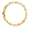 Adult Amber Bracelet Bud - Lemon