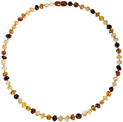 Adult Amber Necklace Bud - Mixed