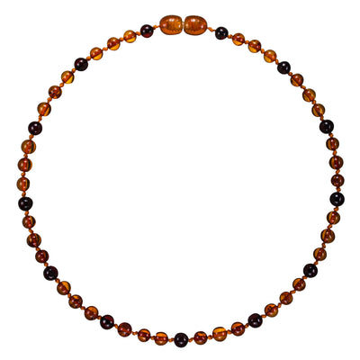Adult Amber Necklace Premium - ChocDrop