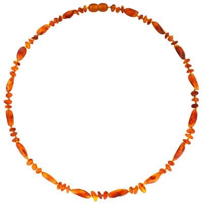 Adult Amber Necklace Raw - Rustic