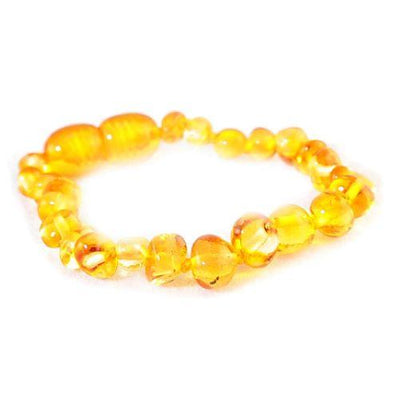 Baby Amber Anklet Bud - Honey