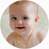 Baby Amber Necklace Premium - Golden Butterscotch