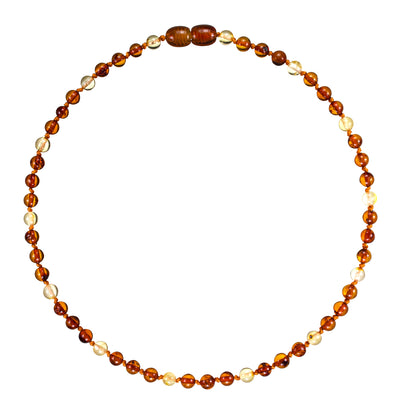 Baby Amber Necklace Premium - Lemon Drop